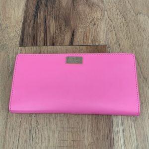 Kate Spade Pink Long Wallet